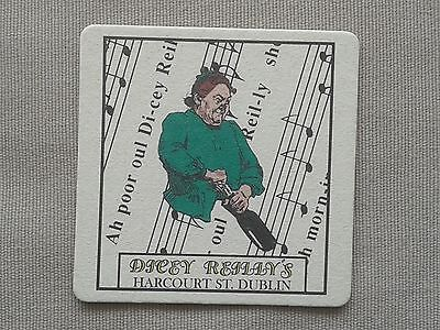 GUINNESS – DICEY REILLY'S DUBLIN – BEER MAT BBCS No. 1093