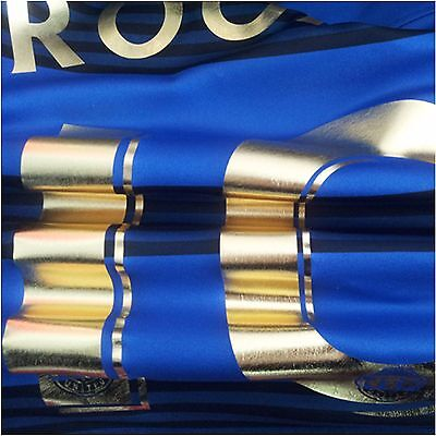 "GOLD SOFT METALLIC  FOIL Heat press TRANSFER vinyl  T-SHIRT 20""x12"" - 6 rolls"