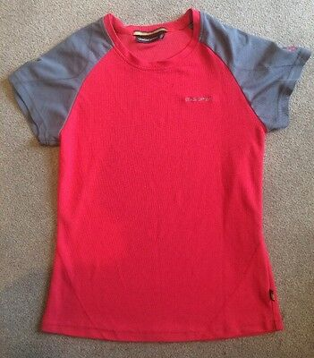GOOD CON Craghoppers womens pink/red & grey lightweight walking / camping top 10