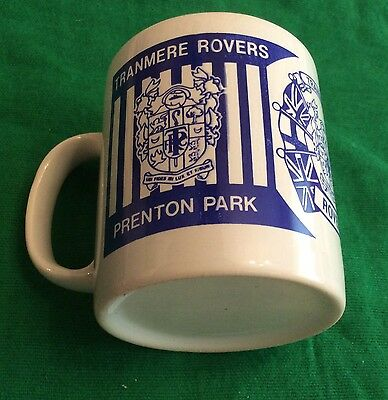 Vintage Tranmere Rovers Football Club Prenton Park Mug Unused