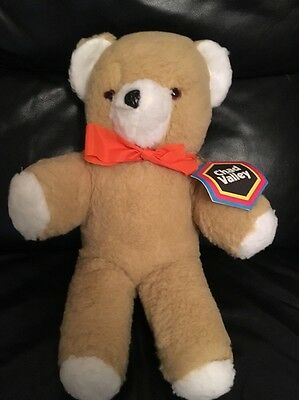Vintage  Chad Valley Chiltern Teddy Bear With Tag