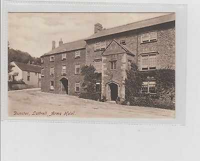 Dunster The Luttrell Arms Hotel Unposted c1910s Friths Reigate Publisher