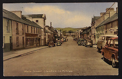 GLENTIES postcard Main Street