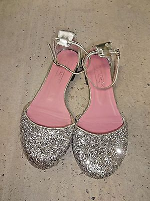 Office Real Leathers Womens Sandals Silver Size UK 5 EU 38