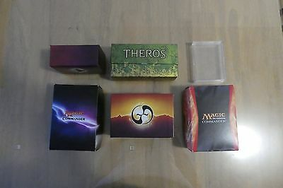 Trading Card Storage = 6x Different Deck Boxes # Card Protectors