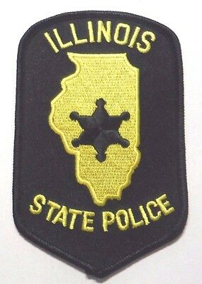 Illinois State Police Patch Unused