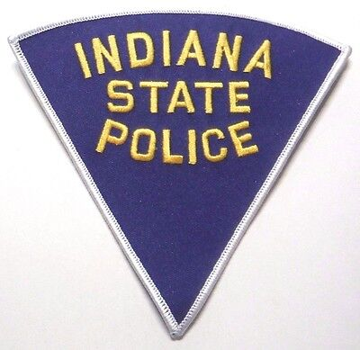 """Old Indiana State Police 5"""" Patch Unused"""