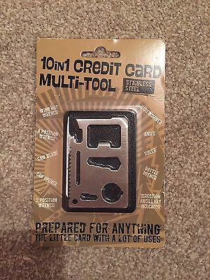 10 In 1 Credit Card Tool