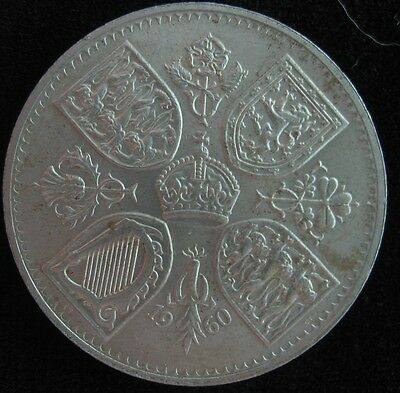 "Great Britain 1960 Five Shilling ""new York"" Crown Au"