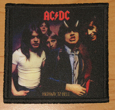 "AC/DC ""HIGHWAY TO HELL"" silk screen PATCH"