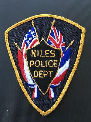 Niles  Michigan Police  Shoulder  Patch