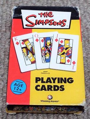 The Simpsons - Pack of 2003 Non Standard Playing Cards