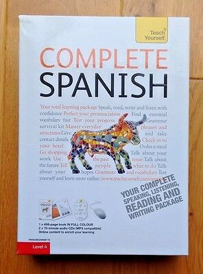 Teach Yourself Complete Spanish (Book/CD Pack) From Beginners to Level 4 (Audio)