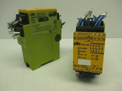 Pilz PNOZX8P 24VDC 3.5W Safety Relay *Lot of 2*