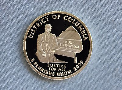 2009-S District of Columbia Silver Proof US Territories Ultra Deep Cameo