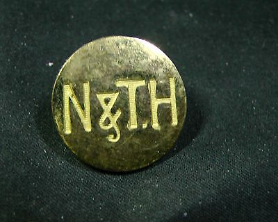 NEWMARKET & THURLOW HUNT CLUB ENGRAVED GILT DRESS Button FIRMIN