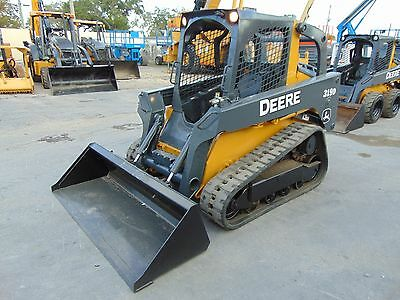 2011 John Deere 319D Turbo Skid Track Loader