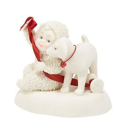 Snowbabies Puppy For Christmas Figurine