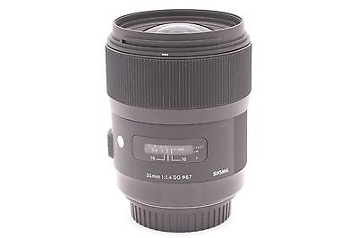 Sigma 35mm f/1.4 ART DG HSM Lens for Canon Digital SLR Cameras