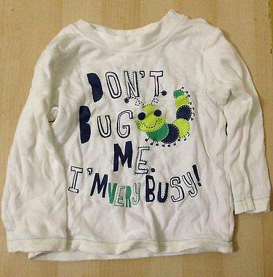 Boys 9-12 Month Long Sleeve Top Caterpillar