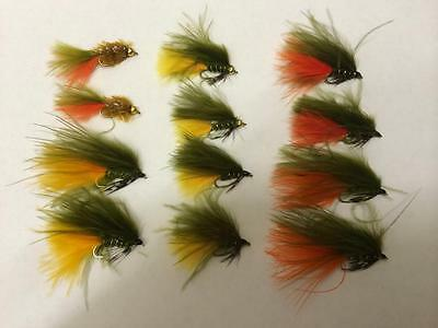 UFS Fly Pack Dawsons Olive Mixed - #10 (Pack of 12)