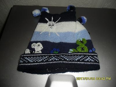 Super winter hat age 12 months brand new without tags