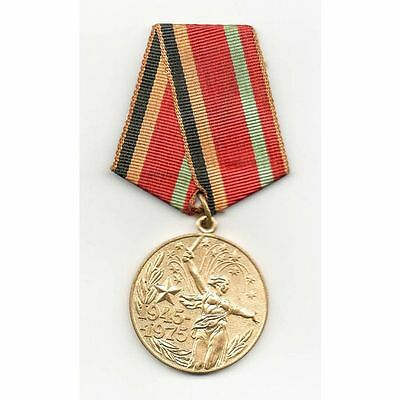 Russia (USSR) Medal 30 Years of Victory in the WWII