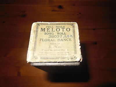 Meloto Song Roll 38027 - Floral Dance - Pianola Roll