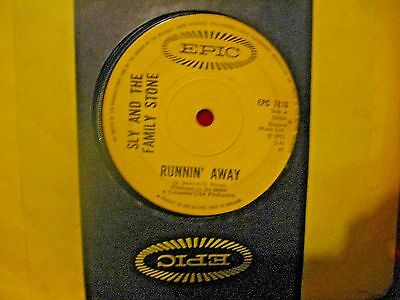 """Sly And The Family Stone 1972 """"runnin' Away"""" Epic Records"""