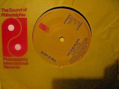 """O'jays 1978  """"use To Be My Girl"""" Philly Int Records"""