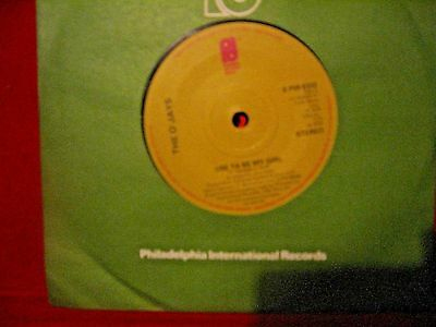 """O'jays   """"use To Be My Girl"""" 1978 Philly Int Records"""