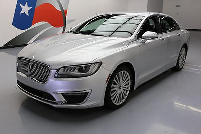 2017 Lincoln MKZ/Zephyr  2017 LINCOLN MKZ RESERVE CLIMATE SEATS NAV REAR CAM 34K #606319 Texas Direct