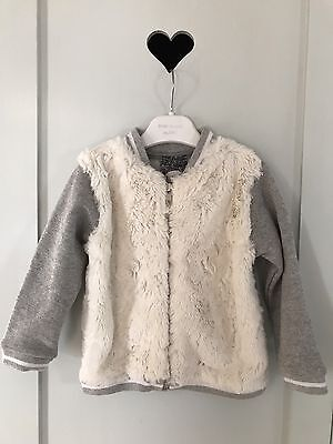 River Island Beautiful BabyGirls Furry Jacket 12-18 Mths Basic & Super Trendy!