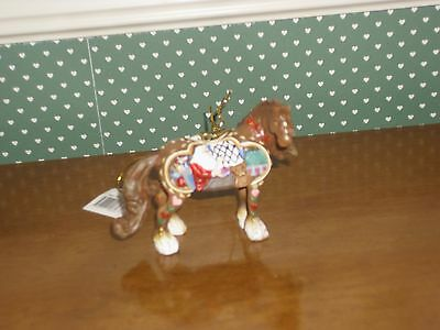 Horse Of A Different Color Ornament-Santa's Workshop-New In Box