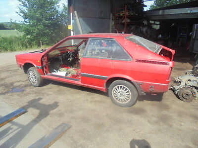 1987 Audi Coupe Gt Rolling Body Shell With Id Logbook Maybe Good Quattro Reshell