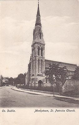 zx irish postcard ireland dublin st patricks church monkstown