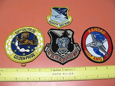"""U.s. Air Force Patch Grouping Lot Deal """" C """"  Nice"""
