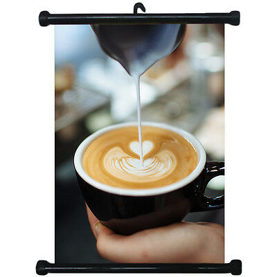 sp217065 Coffee Shop Wall Scroll Poster For Cafe Display