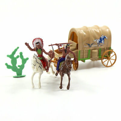 P2520 Moldel Indian and Carriage Tribes The Best Wild West Western Region Cowboy