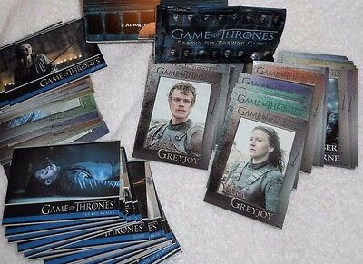 Game Of Thrones Season Six  100 Base Card Set & Wrapper