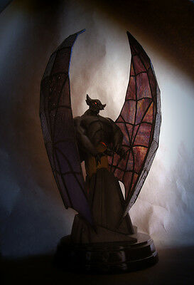 Fantasia~Chernabog~Stained Glass Lamp~Le 1000~Walt Disney Collectible~Mib