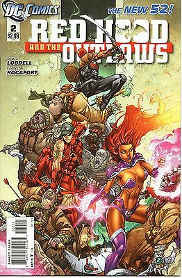 New 52 - Red Hood and the Outlaws - #2 - DC - Scott Lobdell - NM - 1st Printing