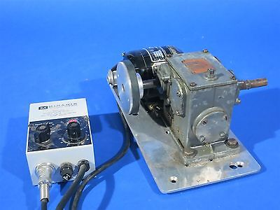 Bodine 1/50hp Electric DC Gear Worm Drive Motor with Controller