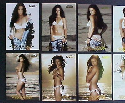 Nascar Danica Patrick 2008 Sports Illustrated Swimsuit PREMIER ISSUE 10 Card Set