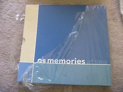 Princess cruises scrapbook with 10 12 x 12 sheets expandable new