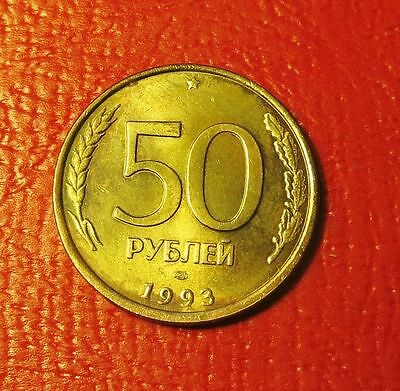 Russia Year  1993 50 Rouble  High Grade