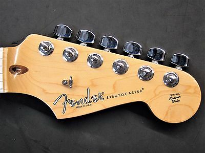 2012 Fender USA Stratocaster MAPLE NECK w/ TUNERS American Strat Electric Guitar