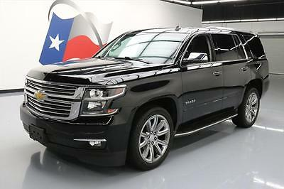 2015 Chevrolet Tahoe LTZ Sport Utility 4-Door 2015 CHEVY TAHOE LTZ SUNROOF NAV REAR CAM DVD 22'S 31K #153555 Texas Direct Auto