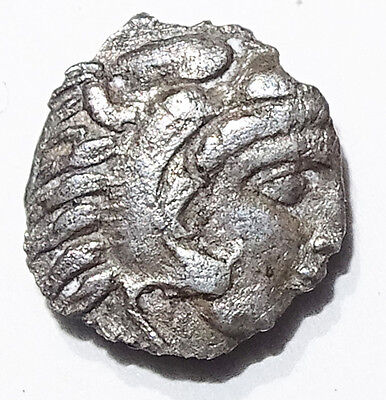 LOT#237 MYSIA, Pergamon. Circa 310-282 BC. Diobol  Ancient SV Greek Coin