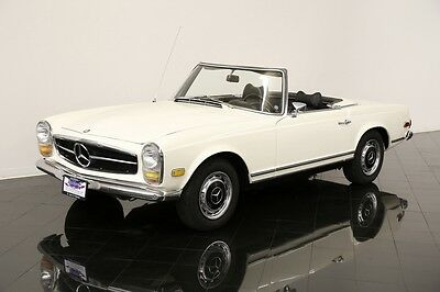 1969 Mercedes-Benz 200-Series 280SL Convertible 1969 Mercedes Benz 280SL Convertible